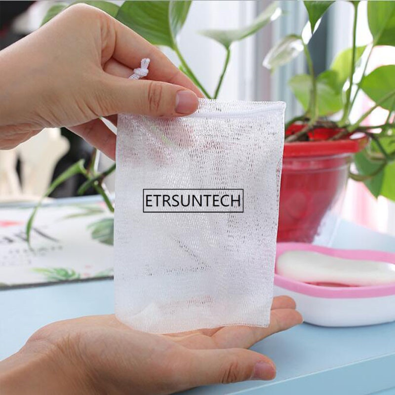 Foaming Net For Handmade Soap Make Bubbles Use For Wash Face Shaving Wash Hair Bath Ball