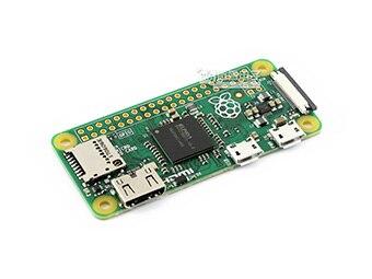التوت بي صفر ث حزمة D ، مع أوسب هاب هات مايكرو سد بطاقة ، محول الطاقة ، والمكونات الأساسية
