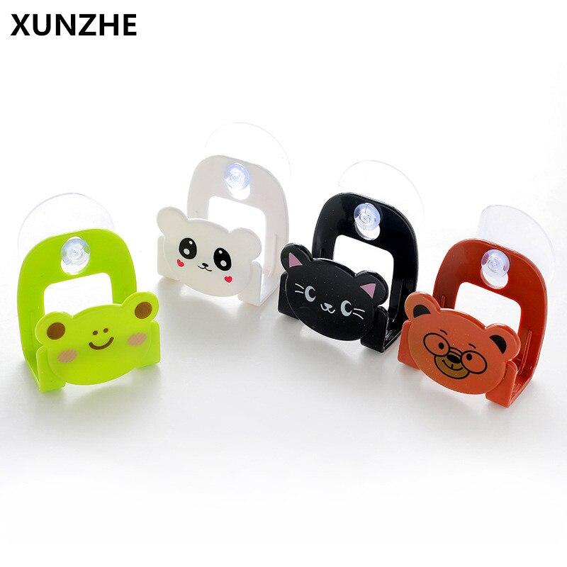 XUNZHE 1 PC Animal de dibujos animados multifunción estante de almacenamiento fregadero de cocina esponja soporte baño jabón plato organizador de almacenamiento