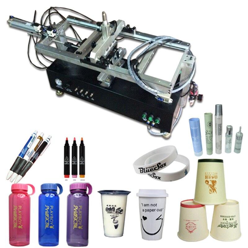 Máquina de serigrafía de botellas de vidrio, máquina de serigrafía para botellas