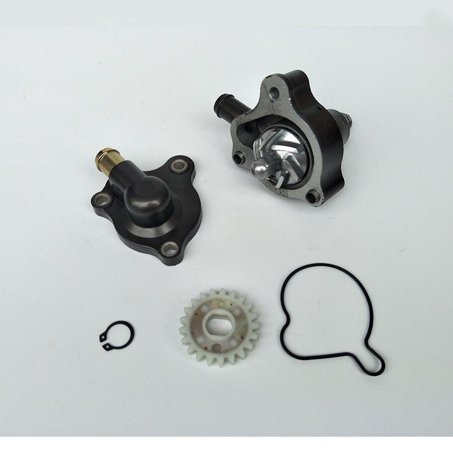 Parte del motor de la motocicleta Bomba De refrigeración para la bomba de agua del motor de refrigeración de agua inversa