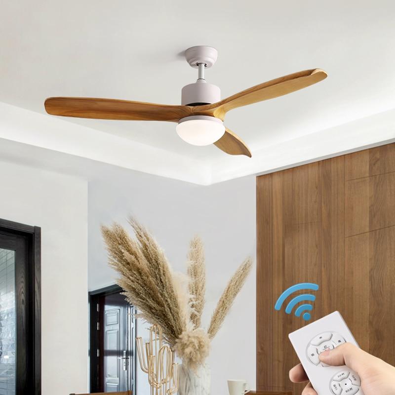 Ventilador de techo Led TRAZOS con luces para sala de estar VENTILADOR de plafon 220V ventiladores de techo lámpara ventilador de dormitorio iluminación