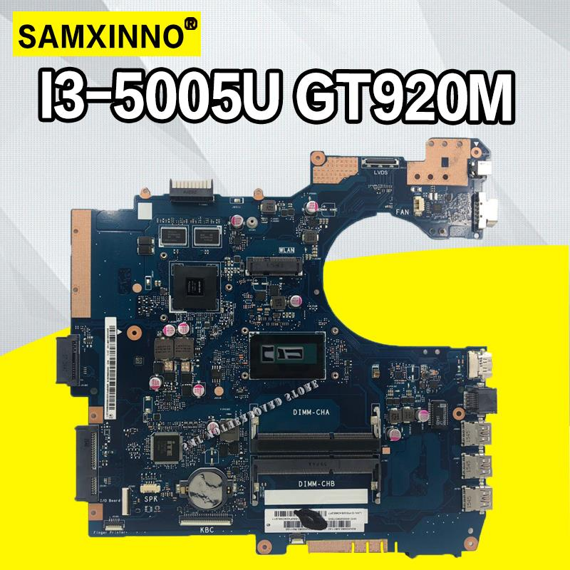 P552LA اللوحة ل Asus P552 P552L P2520LA P2520LJ P552LA P552LJ اللوحة المحمول 100% اختبار مع I3-5005/i3-4005U GT920M 2G