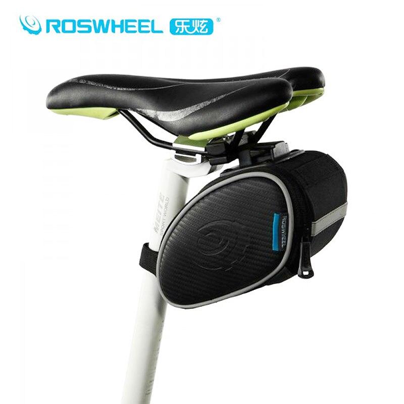 Bolsa de bicicleta Roswheel, asiento trasero de bicicleta de carretera, bolsa de sillín de bicicleta, bolsa de herramientas de bicicleta de montaña, bolsa de bicicleta