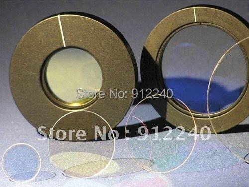 Diámetro de 25,4 MM, 1064nm, 1/2 placas de onda de orden cero cementadas/placa de onda óptica/media Placa de onda