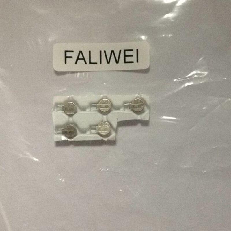 5 unids/lote MS412FE de iones de litio de botón de batería recargable de celda de reserva de la batería pila de moneda MS412FE-FL26E * 4,8*1,2mm