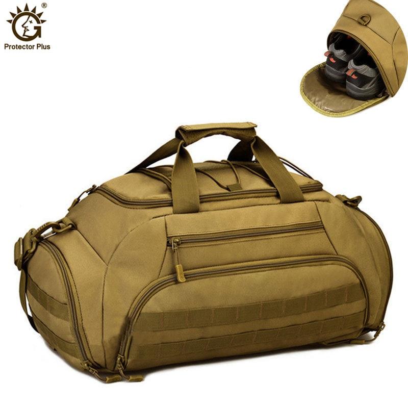 Mens Vintage Travel Bags Large Capacity Canvas Backpack Luggage Daily Handbag Bolsa Multifunction luggage duffle bag