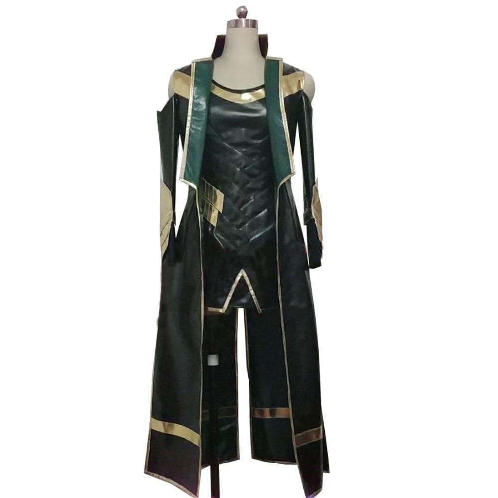 2019 костюм Темный мир Локи Косплей Костюм Хэллоуин Карнавальный костюм женский стиль