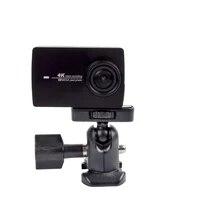 Multifunctional Camera Tripod Ballhead Ball Head Adapter to 1 4 Screw Mount For Gopro Hero 5 4 3 2 1 SJCAM Xiaomi yi