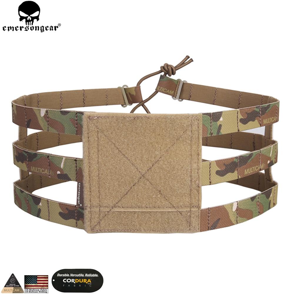EMERSONGEAR, faja de 3 bandas Lite para AVS, JPC, chaleco EMERSON Molle, chaleco de pecho, portador de equipo de combate, accesorios de caza EM7437