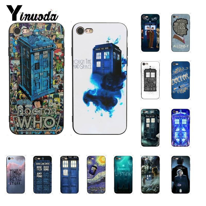 Yinuoda Doctor who tardis illustrations Синий чехол для телефона iPhone 8 7 6 6S 6Plus X XS MAX 5 5S SE XR 10 чехол 11 11pro 11promax