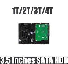 3.5 cala dysk twardy SATA 500GB 1T 2T 3T 4T dysk twardy hdd do rejestratorów sieciowych