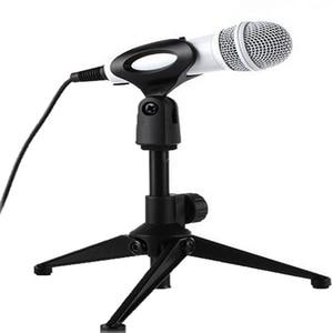 Professional PC - 03 Adjustable Foldable Desktop Table Holder Microphone Tripod MIC Stand Mount Clip Mount Shock