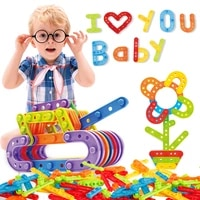 hot sale assembled strip building blocks toys children game toy baby educational toy gift for kids classic toys