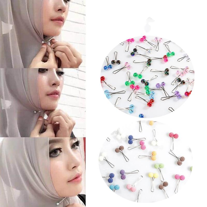 5 шт., новинка, мусульманский хиджаб, заколка на шарф, заколка на шарф, платок, шарф, аксессуары, женские заколки для мусульманского платка, подарок