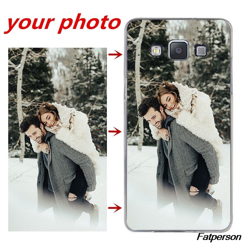Imagens de animais de estimação e familiares e amigos Foto DIY Personalizar a Caixa do telefone Capa para samsung galaxy S8 s10 s9plus plus s5 s6 s7edge casos