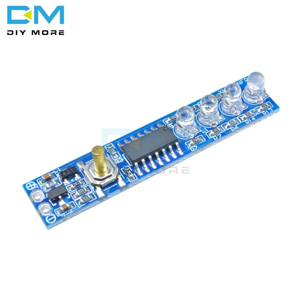 1 S/2 S/3 S/4S индикатор емкости литиевой батареи светодиодный индикатор уровня мощности для 1/2/3/4 шт 18650 литиевая батарея DIY