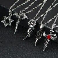 street trend statement necklace chain cross eye skull sweater chain 60cm hip hop necklace collar jewelry long necklace men women