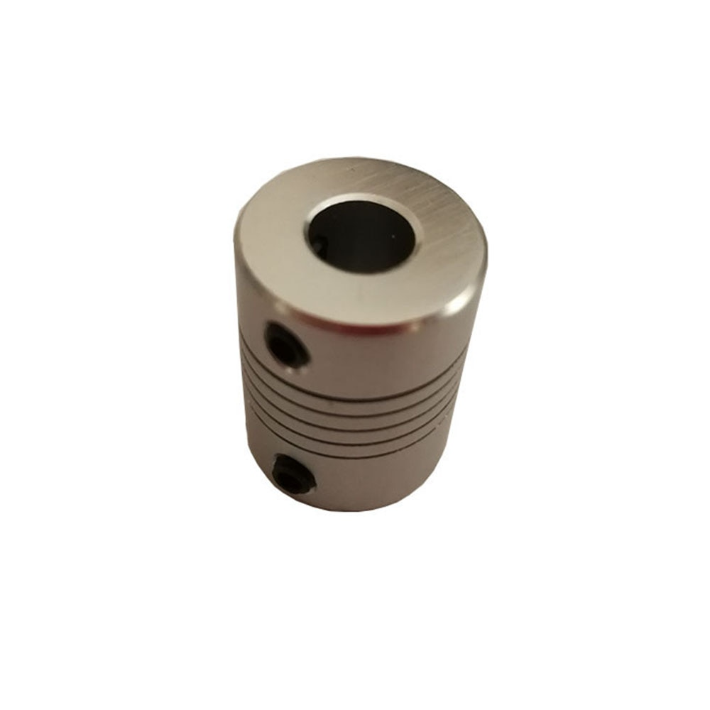 CNC Motor Jaw Shaft Coupler 5mm To 8mm Flexible Coupling OD 19x25mm wholesale Dropshipping 3/4/5/6/6.35/8/10mm rigid coupling od 20x25mm engraving machine motor step servo motor ball screw connecting axle 4 5 6 6 35 7 8