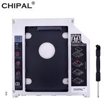 "CHIPAL SATA de aluminio 3,0 2nd HDD Caddy 9,5mm Disco Duro SSD caja para Macbook Pro 13 ""15"" 17 ""SuperDrive Optibay"