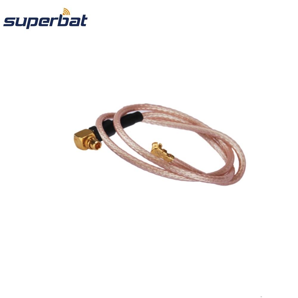 Superbat MMCX прямоугольный разъем для UFL/IPX прямоугольный разъем ОТРЕЗОК кабеля антенны фидерный кабель в сборе RG178 15 см