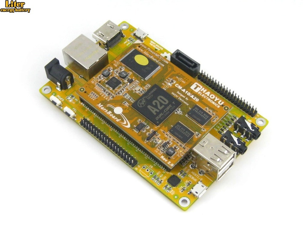 Marte MarsBoard A20 Lite Allwinner A20 ARM Cortex A7 Dual core Mali 400 GPU Kit