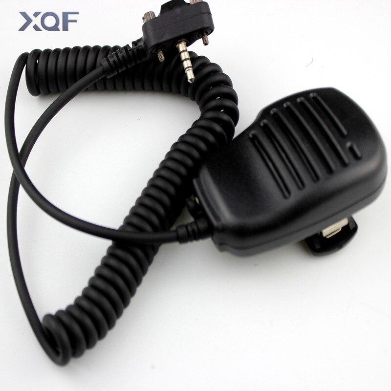 Ombro alto-falante microfone para vertex padrão vx210 vx228 vx230 vx231 vx298 vx300 vx350 vx351 vx354 vx400 vx410 rádio em dois sentidos