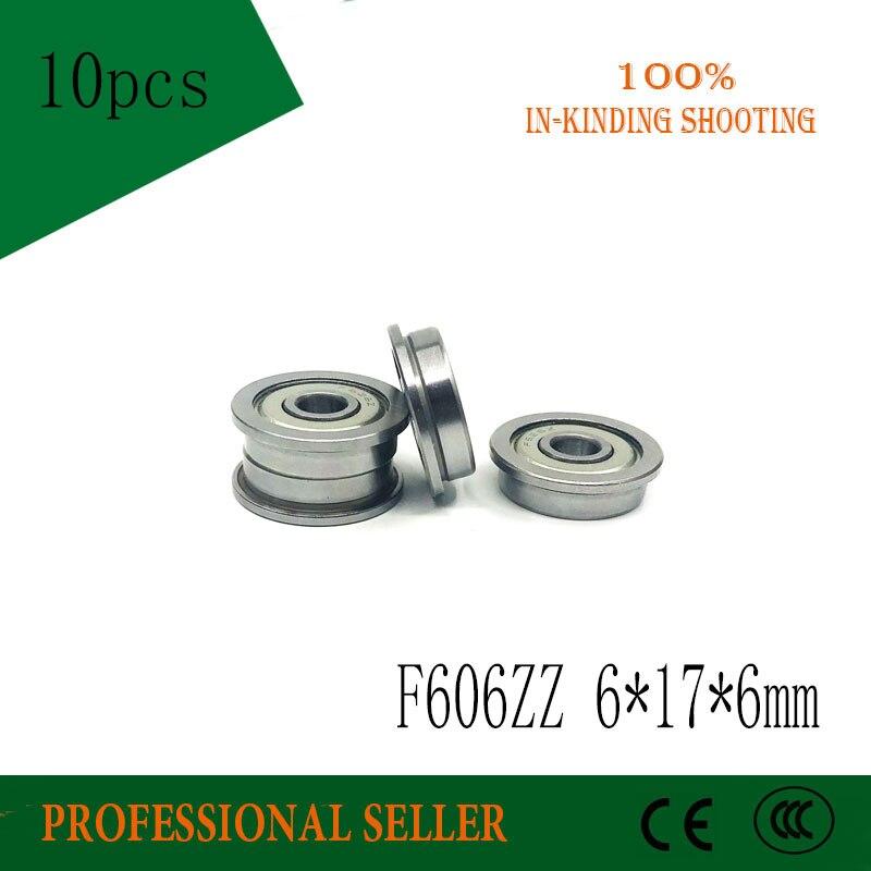 Rodamiento F606ZZ ABEC-5 (10 piezas) 6*17*6mm rodamientos de bolas F606Z F606 ZZ