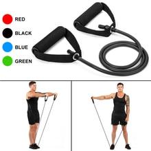 120cm Fitness Elastic Resistance Bands Yoga Pull Rope Exercise Tubes Elastic Workout Bands for Yoga Pilates Expander Elastic