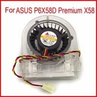 Freies Verschiffen YD124515MB DC12V 0 15A 3Pin Fur ASUS P6X58D Premium X58 1366-Pin Computer Motherboard Kuhler Lufter