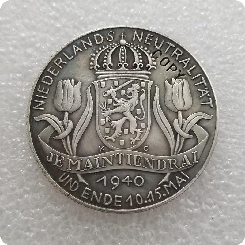 Tipo #3_1940 Karl Goetz Alemania copia moneda