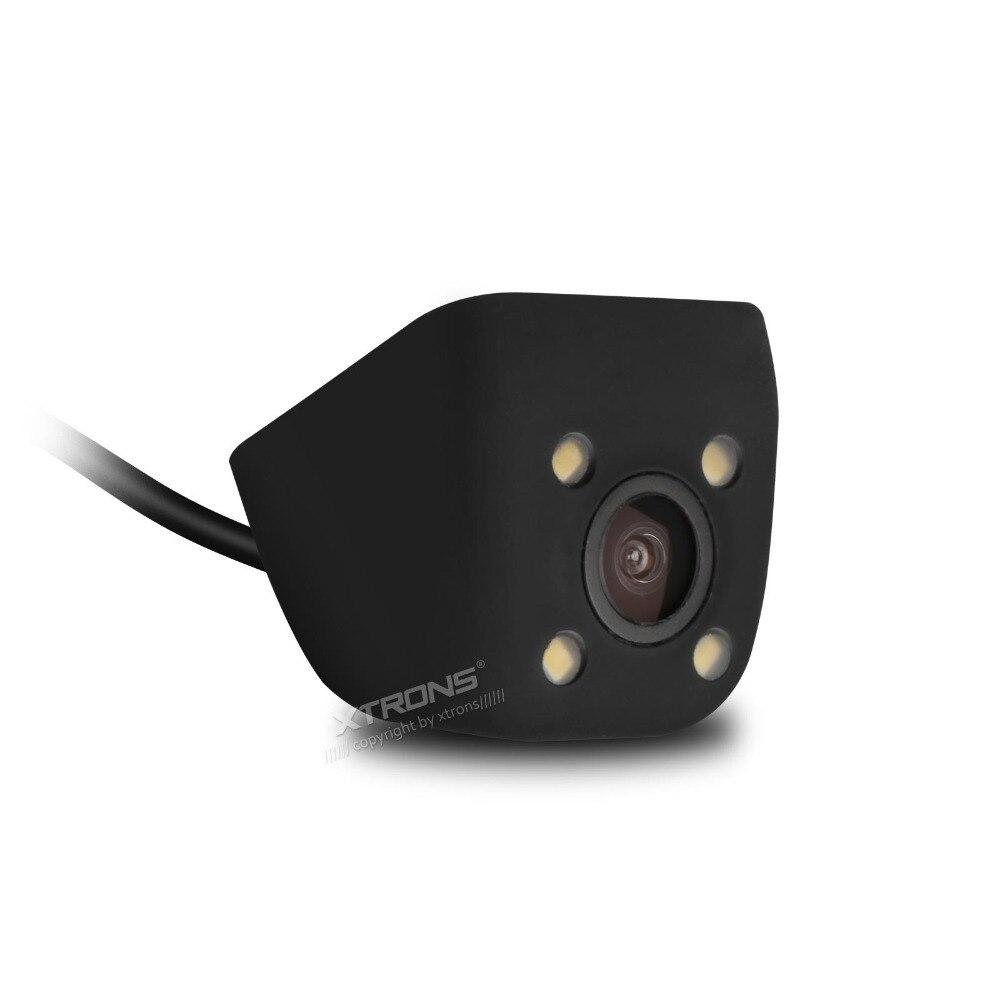 Caméra de recul pour voiture   Petit modèle, Installation facile, étanchéité, Angles réglables, 4 yeux, forte,