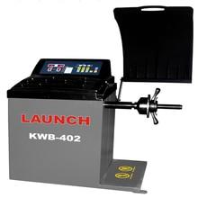KWB-402 التلقائي جهاز ضبط اتزان لعجلات السيارة/عجلة آلة توازن مع LED الرقمية Sceen 100% إطلاق وصول جديد