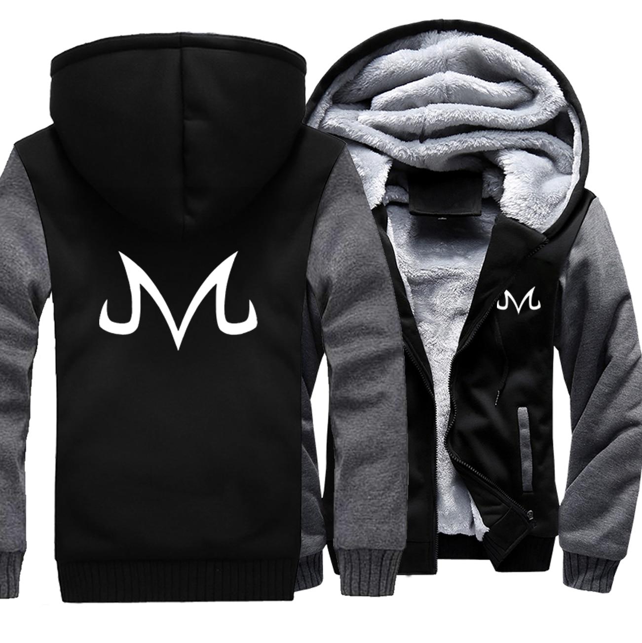 2019 primavera inverno grosso hoodies masculino dragon ball z anime japonês casual masculino streetwear moletom masculino jaquetas