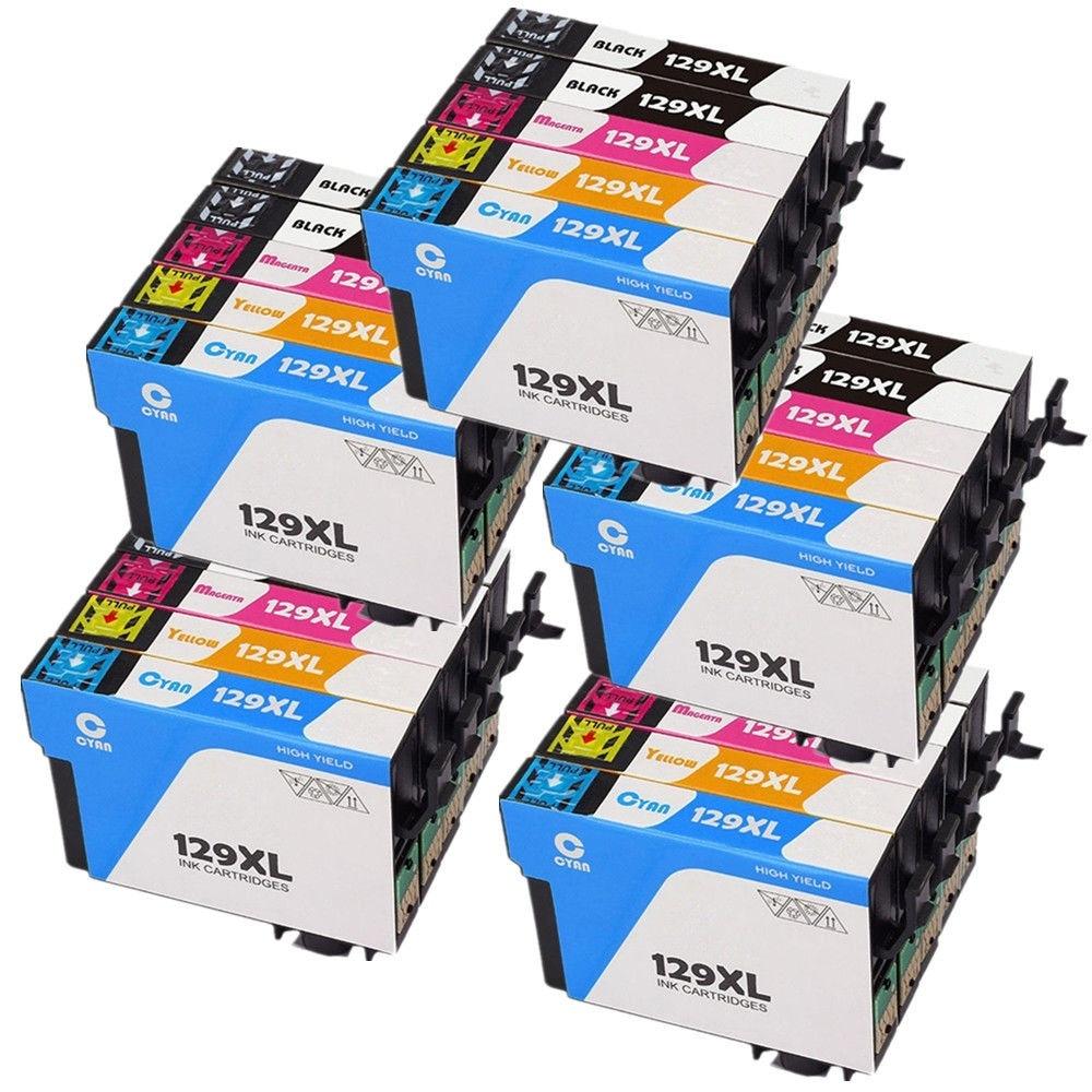 25 T1291 T1292 T1293 T1294 cartucho de tinta para Epson Stylus SX230 SX235W SX420W SX425W SX430W SX435W SX438W SX440W impresora