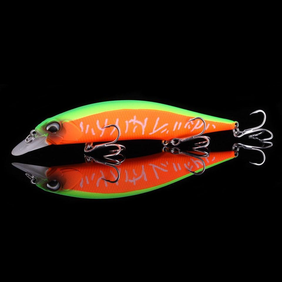 Marche poisson 2019 professionnel flottant leurre de pêche 130mm 17.4g Wobbler méné profondeur peu profonde bar brochet appât leurre matériel de pêche
