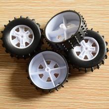 10/100PCS 2x37mm Gummi rad/Dump lkw Rad/yuanmbm tamiya/diy spielzeug zubehör/technologie modell teile rc auto XJCL372AH