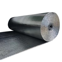 three layers aluminum foil bubble heat insulation film and double face insulation material for roof and sun room 40sqmroll