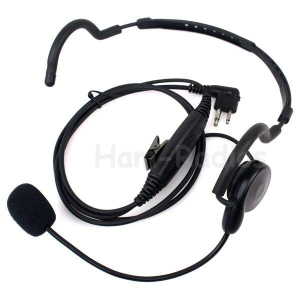 2 pinos fone de ouvido microfone ptt para motorola rádio bidirecional rádios gp88 gp300 gp2000 p040 pro1150 ep450 ep350