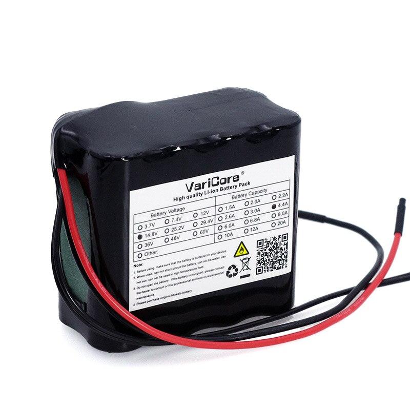 VariCore 14,8 v 4400 mah 18650 li-iom батарея ночной обогреватель рыболовная лампа Шахтерская лампа усилитель батареи с BMS 16,8 v