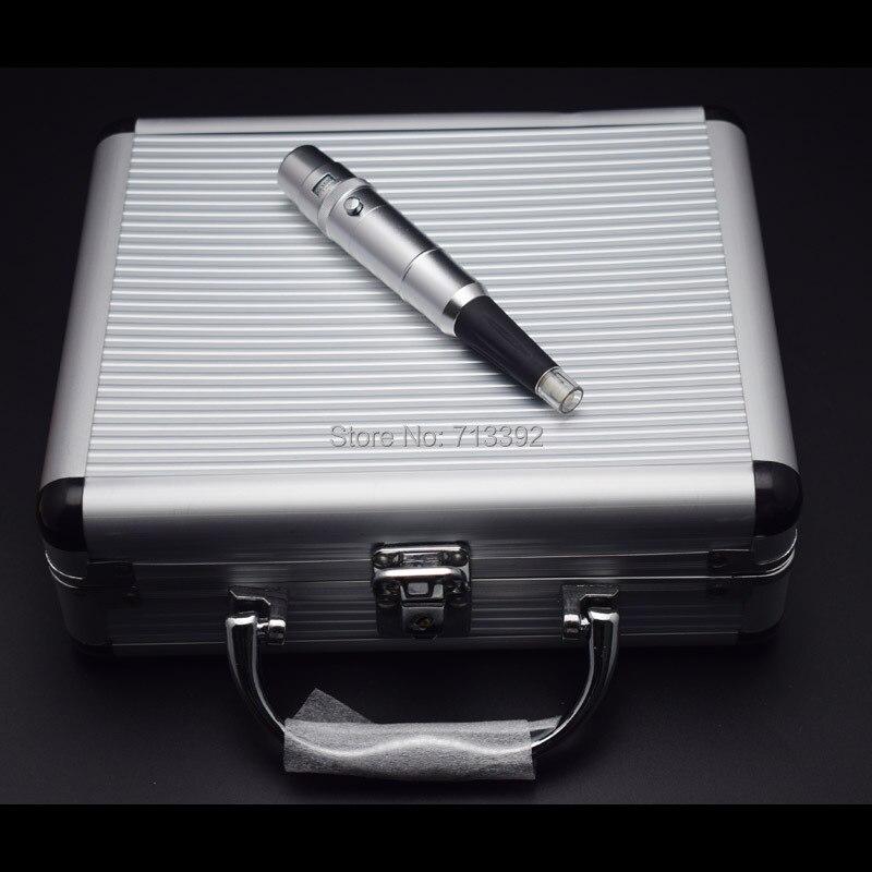 مجموعة ماكينة الماكياج الدائم الفضية الترويجية (إبر + أطراف)