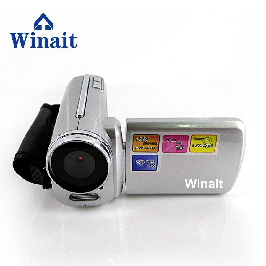 Cámara de vídeo Digital con zoom digital 4X con destello de luz LED obturador electrónico