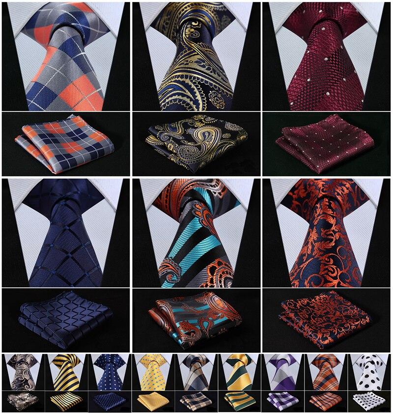 "Corbata de rayas con flores de punto 3,4 ""SEDA DE BODA Jacquard tejido para hombre corbata bolsillo Pañuelo cuadrado conjunto traje J2-1"