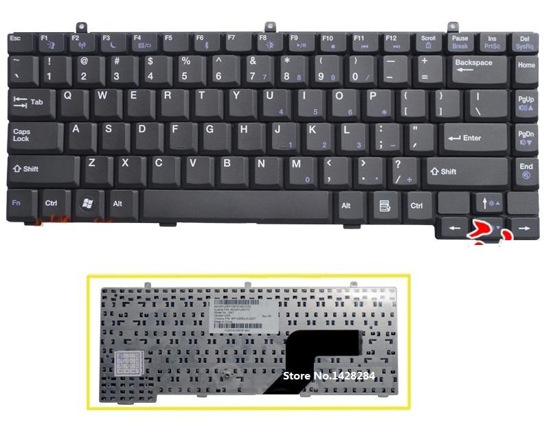 SSEA جديد محمول الولايات الأسود لوحة المفاتيح ل بوابة E475 E265 E-265M E-475M لوحة المفاتيح