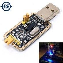 CH340G RS232 mise à jour USB vers TTL convertisseur Module UART Port série UFS-HWK STC dowancharger programmeur brosse petites plaques