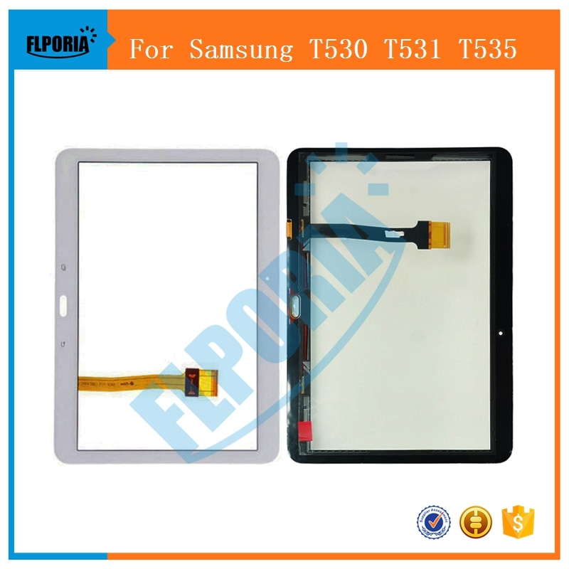 Touch Screen For Samsung Galaxy Tab 4 10.1 T530 T531 T535 Digitizer Panel Replacement Front Glass T530 T531 T535 Tablet Screen