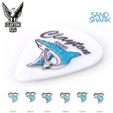 Clayton Sand Shark Acetal Grip Guitar Pick Plectrum Mediator