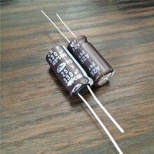 10 pièces 330uF 25V SAMWHA RS série 10x20mm 25V330uF condensateur électrolytique en aluminium
