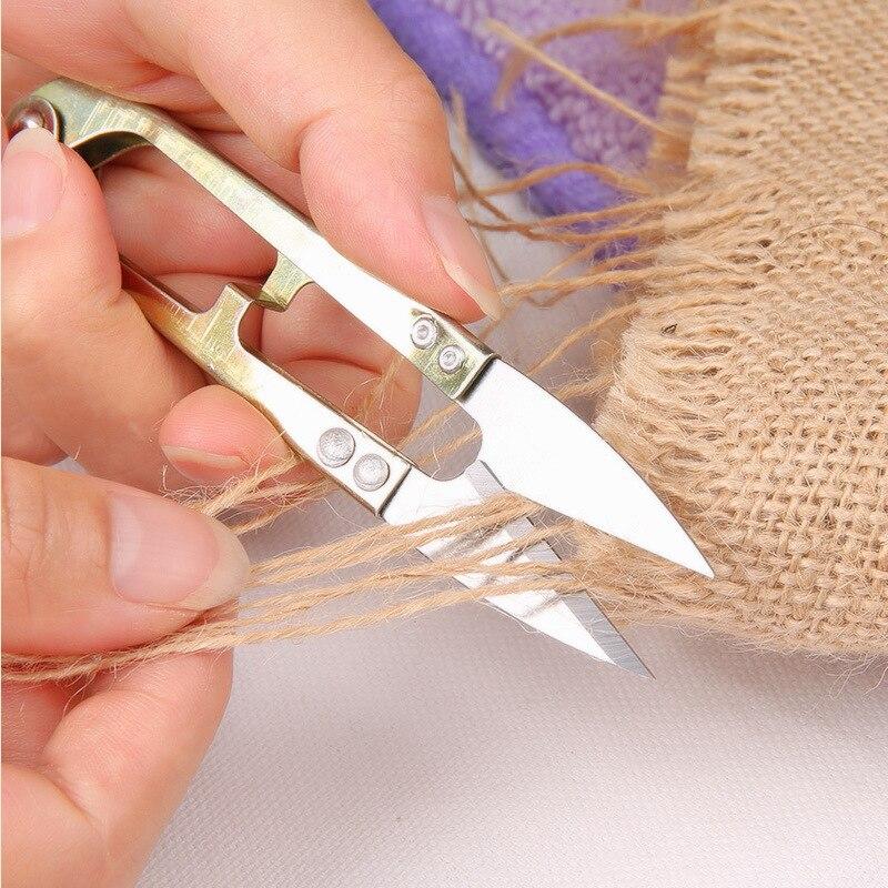 Tijera de sastre de punto de cruz de 10,5x2 cm, herramienta de costura DIY, suministros de costura, cortador de hilo, pinza clíper recortadora, tijeras