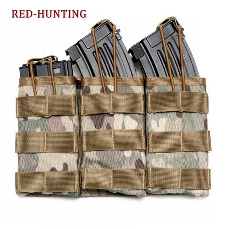 Survival Gear Tactical 3 Molle Magazine Pouches Drop Utility Pouch Bag Outdoor Waist Bag Tool Pouch